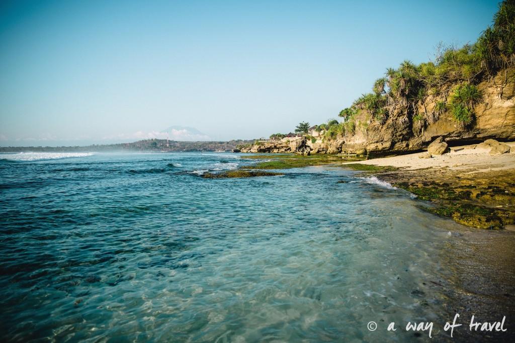 Visit Bali Indonesie Nasi Lembongan secret point plage beach