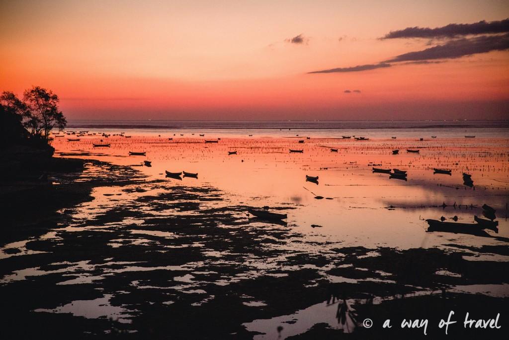 Visit Bali Indonesie Nasi Lembongan sunset
