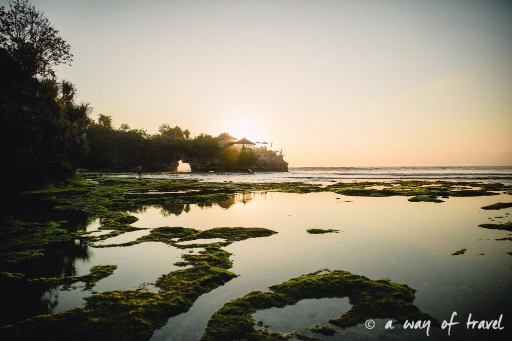 Visit Bali Indonesie Nasi Lembongan sunset secret point