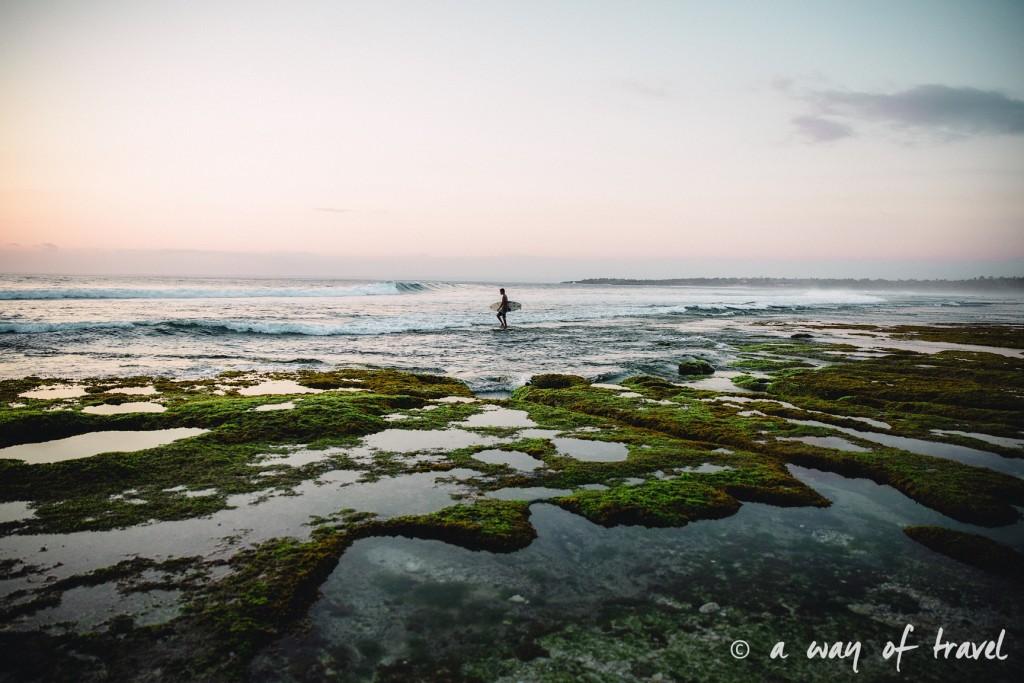 Visit Bali Indonesie Nasi Lembongan surfeur