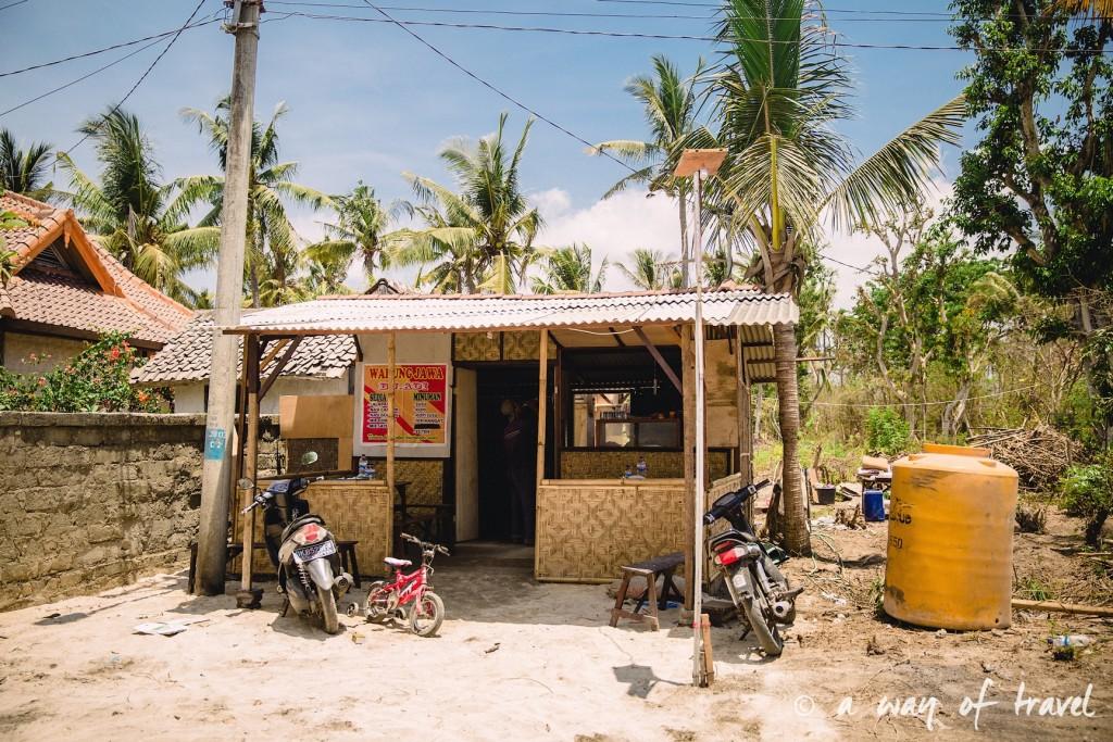 Visit Bali Indonesie Nasi Lembongan warung