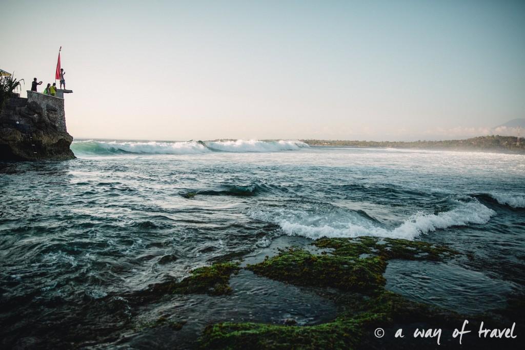 Visit Bali Indonesie Nasi Lembongan wave vague surf secret point