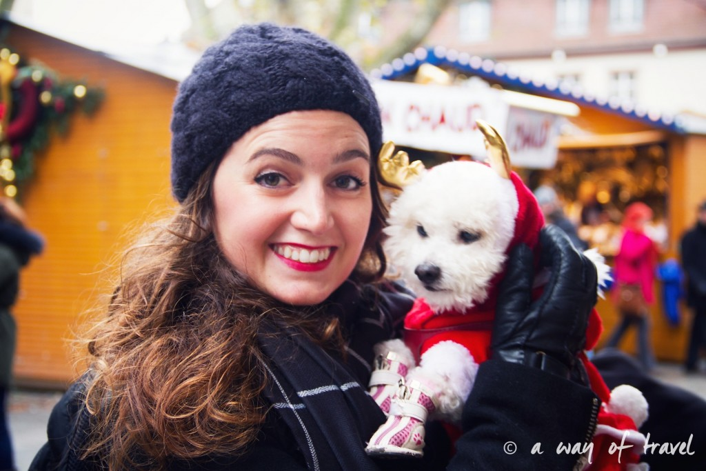 marche noel christmas market capitale strasbourg costume chien (1)