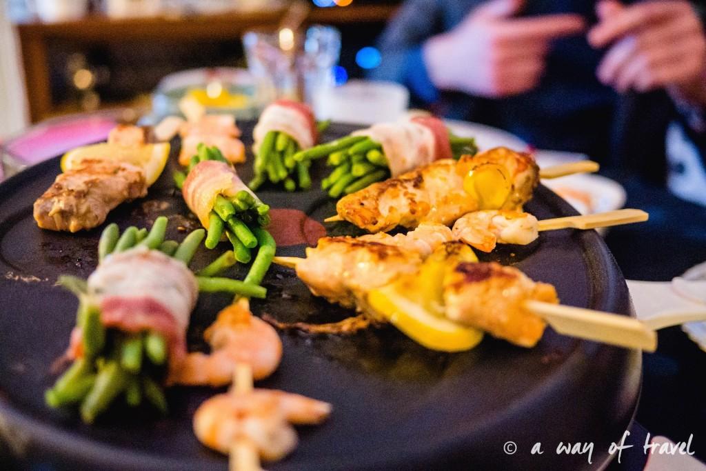 Nouvel An Toulouse raclette magret saumon sortie paillettes 9