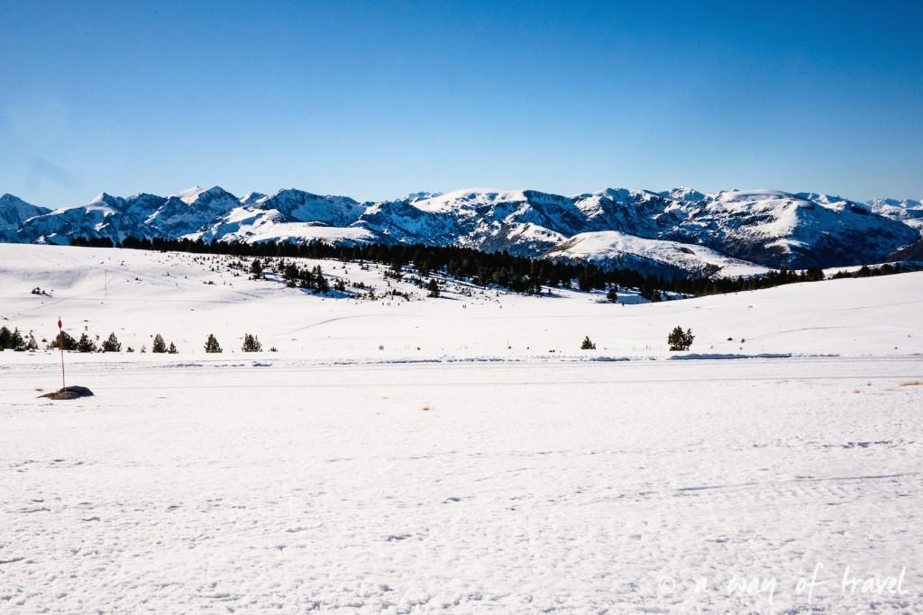 Plateau de beille Pyrénées randonnee raquette ski de fond hiver blog voyage 10