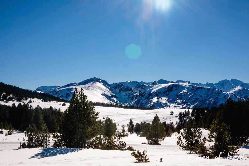 Plateau de beille Pyrénées randonnee raquette ski de fond hiver blog voyage 13