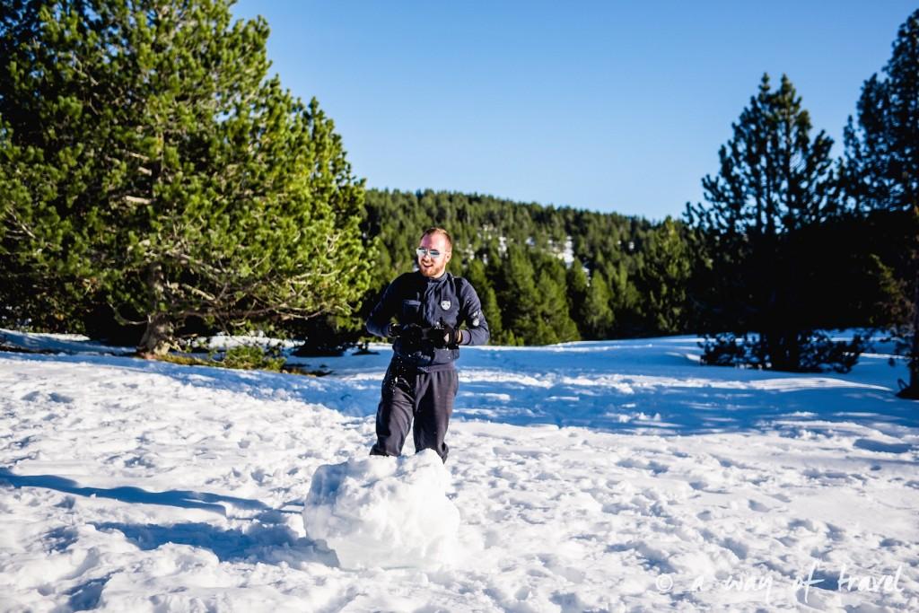 Plateau de beille Pyrénées randonnee raquette ski de fond hiver blog voyage 21