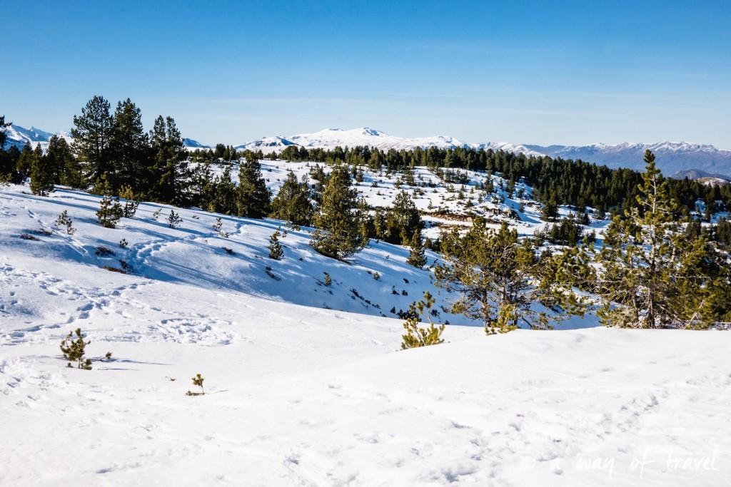 Plateau de beille Pyrénées randonnee raquette ski de fond hiver blog voyage 23
