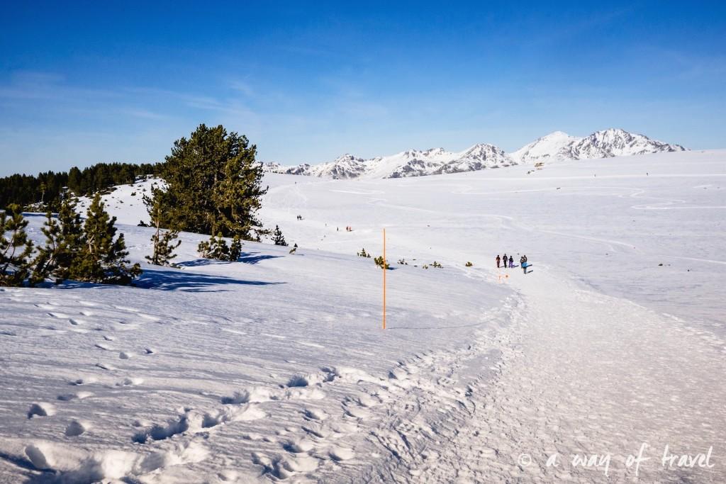 Plateau de beille Pyrénées randonnee raquette ski de fond hiver blog voyage 29