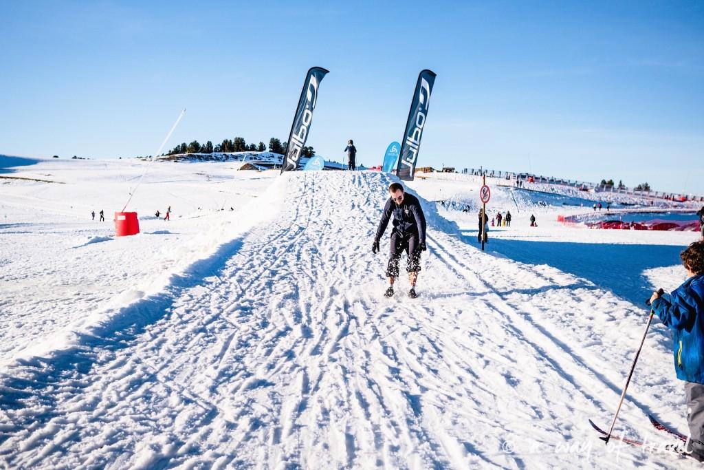 Plateau de beille Pyrénées randonnee raquette ski de fond hiver blog voyage 8