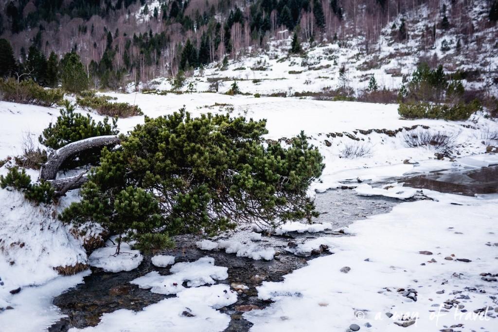 Randonnée neige raquette cirque garantie pyrenees montagne 17