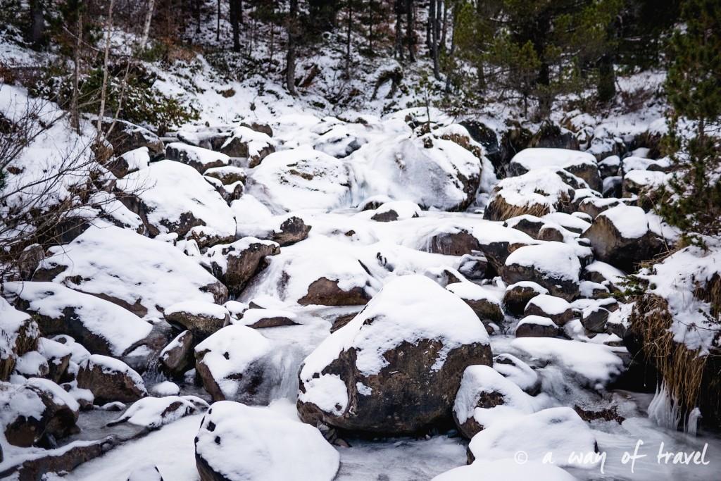 Randonnée neige raquette cirque garantie pyrenees montagne 22