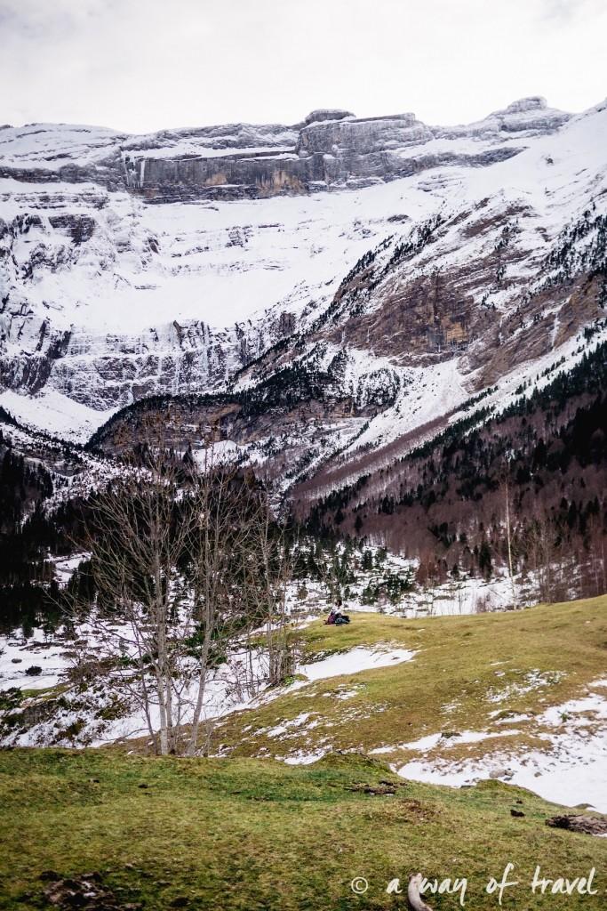 Randonnée neige raquette cirque garantie pyrenees montagne 26