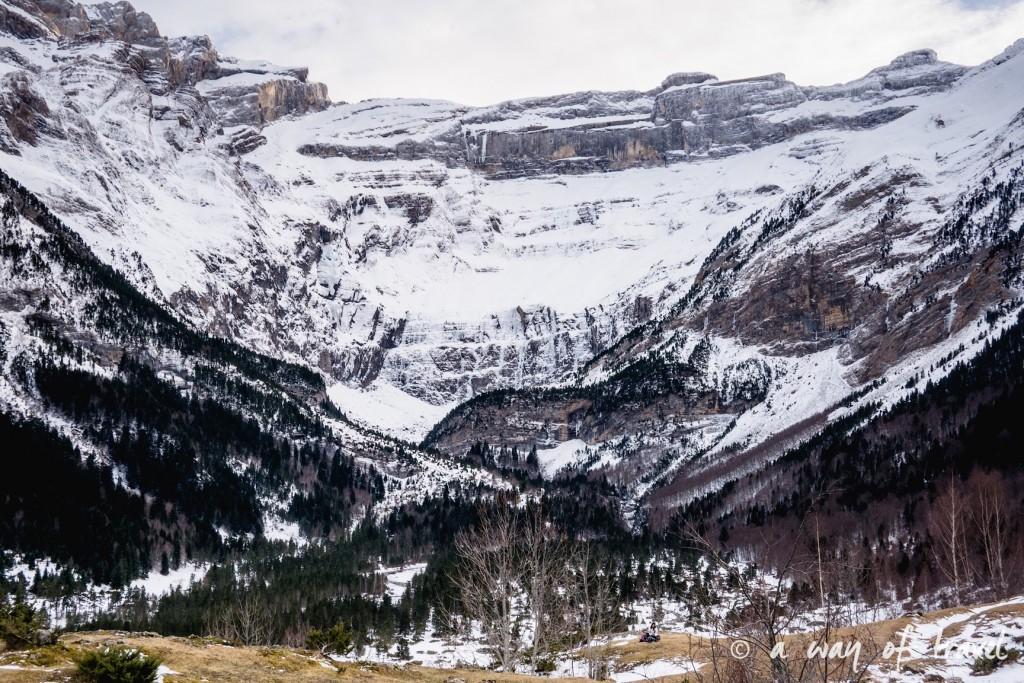 Randonnée neige raquette cirque garantie pyrenees montagne 30
