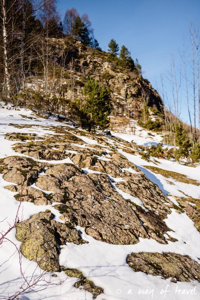 Randonnée neige raquette cirque garantie pyrenees montagne 4