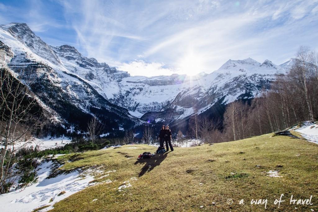 Randonnée neige raquette cirque garantie pyrenees montagne 5