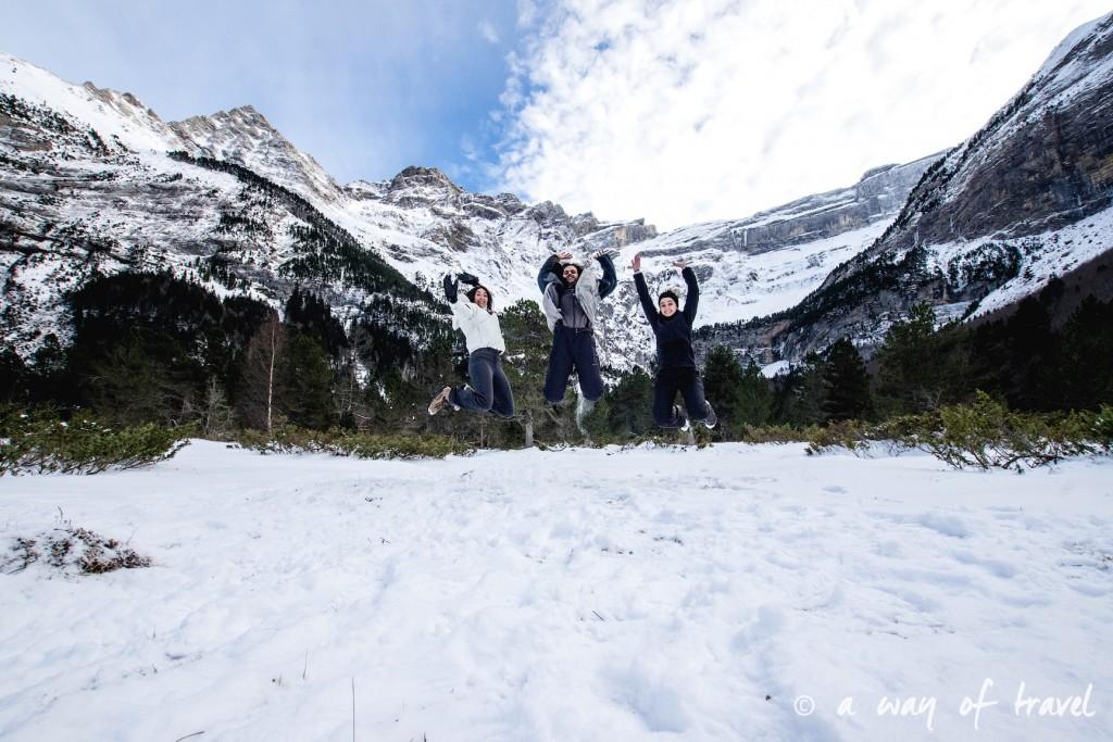 Randonnée neige raquette cirque garantie pyrenees montagne 7