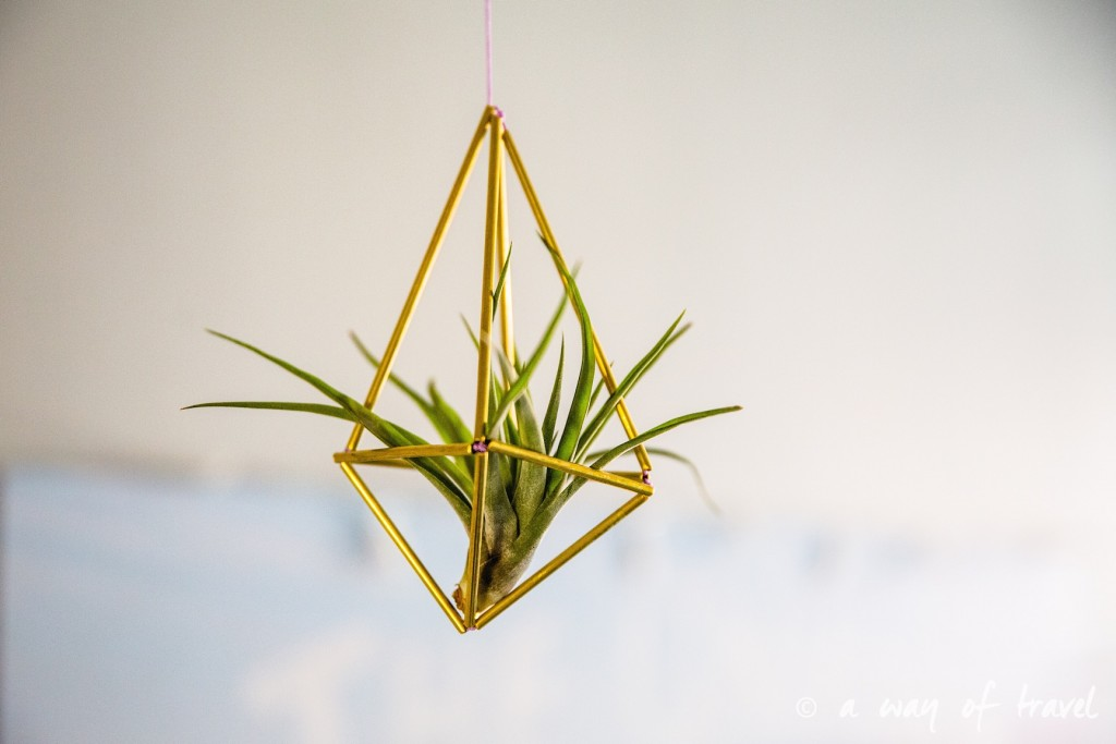 himmeli DIY laiton tuto pas a pas diamant geometrie deco scandinave 2