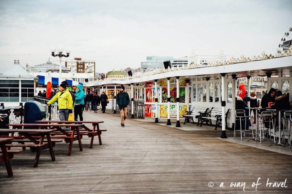 a way of travel blog voyage brighton angleterre visiter a voir 61 pier