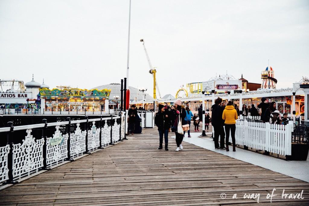 a way of travel blog voyage brighton angleterre visiter a voir 69 pier