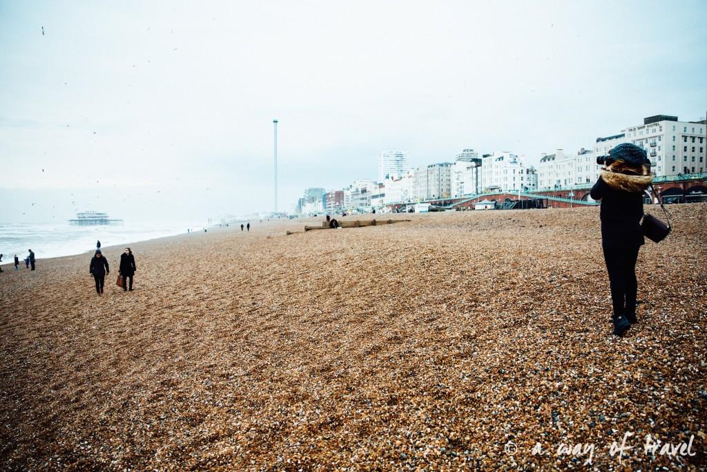 a way of travel blog voyage brighton angleterre visiter a voir 77 beach plage