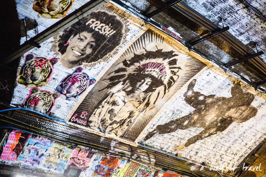 londres visiter a voir muséum histoire naturelle dodo tunnel banksy street art tags-3