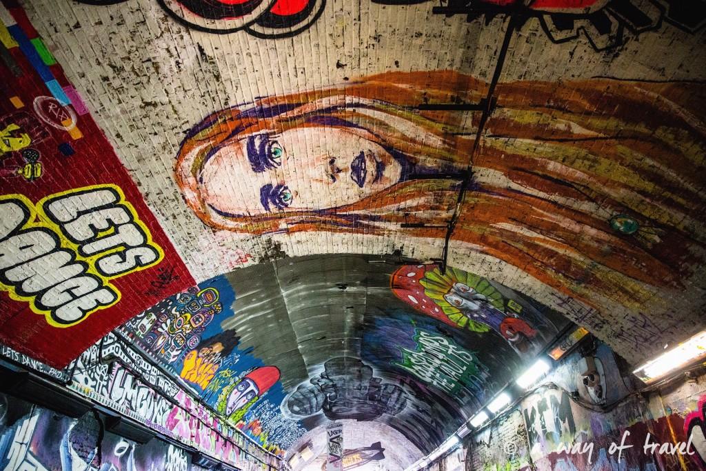 londres visiter a voir muséum histoire naturelle dodo tunnel banksy street art tags-4