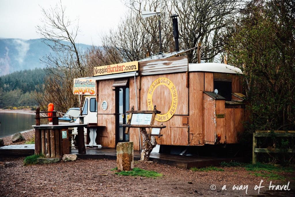 Loch Ness Visit Ecosse Scotland monstre caravane centre road trip blog voyage 2