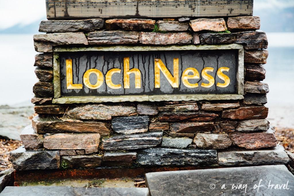 Loch Ness Visit Ecosse Scotland monstre caravane centre road trip blog voyage 3