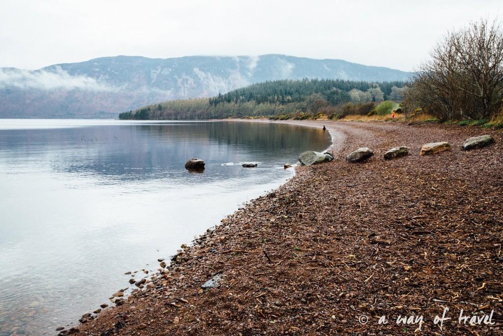 Loch Ness Visit Ecosse Scotland monstre caravane centre road trip blog voyage 4
