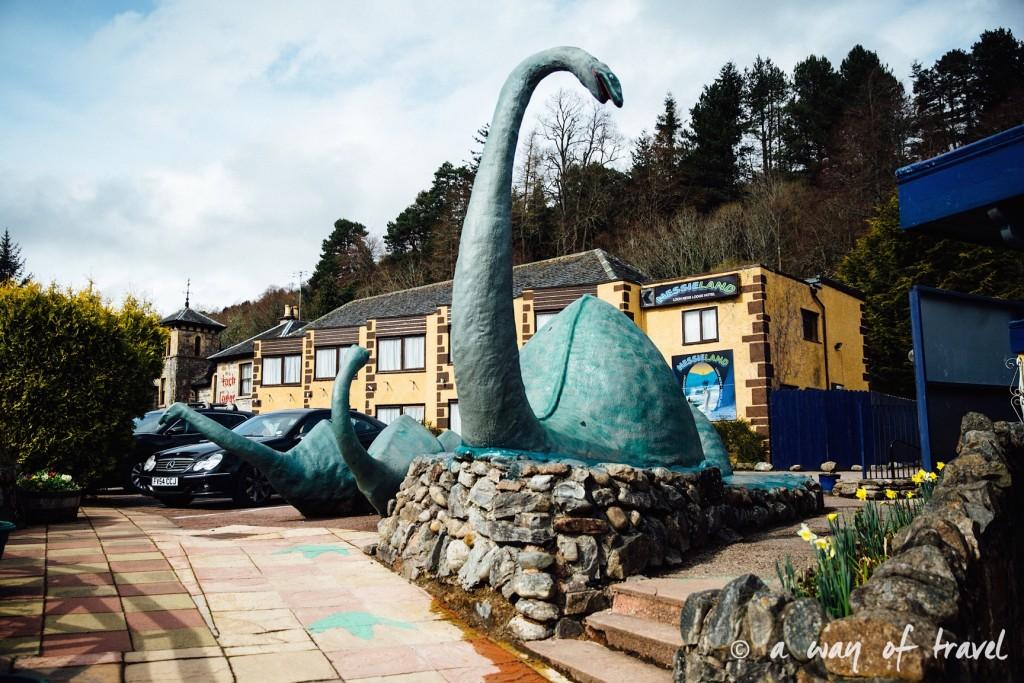 Loch Ness Visit Ecosse Scotland monstre caravane centre road trip blog voyage 9