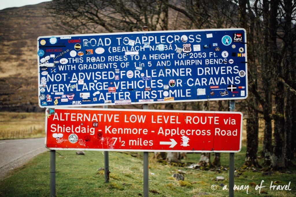 Road trip visit Ecosse scotland torridon applecross  1