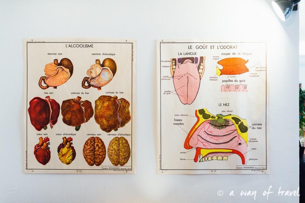 affiche vintage alcoolisme gout odorat