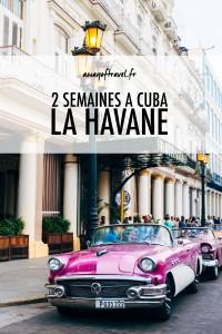 La Havane city guide cuba