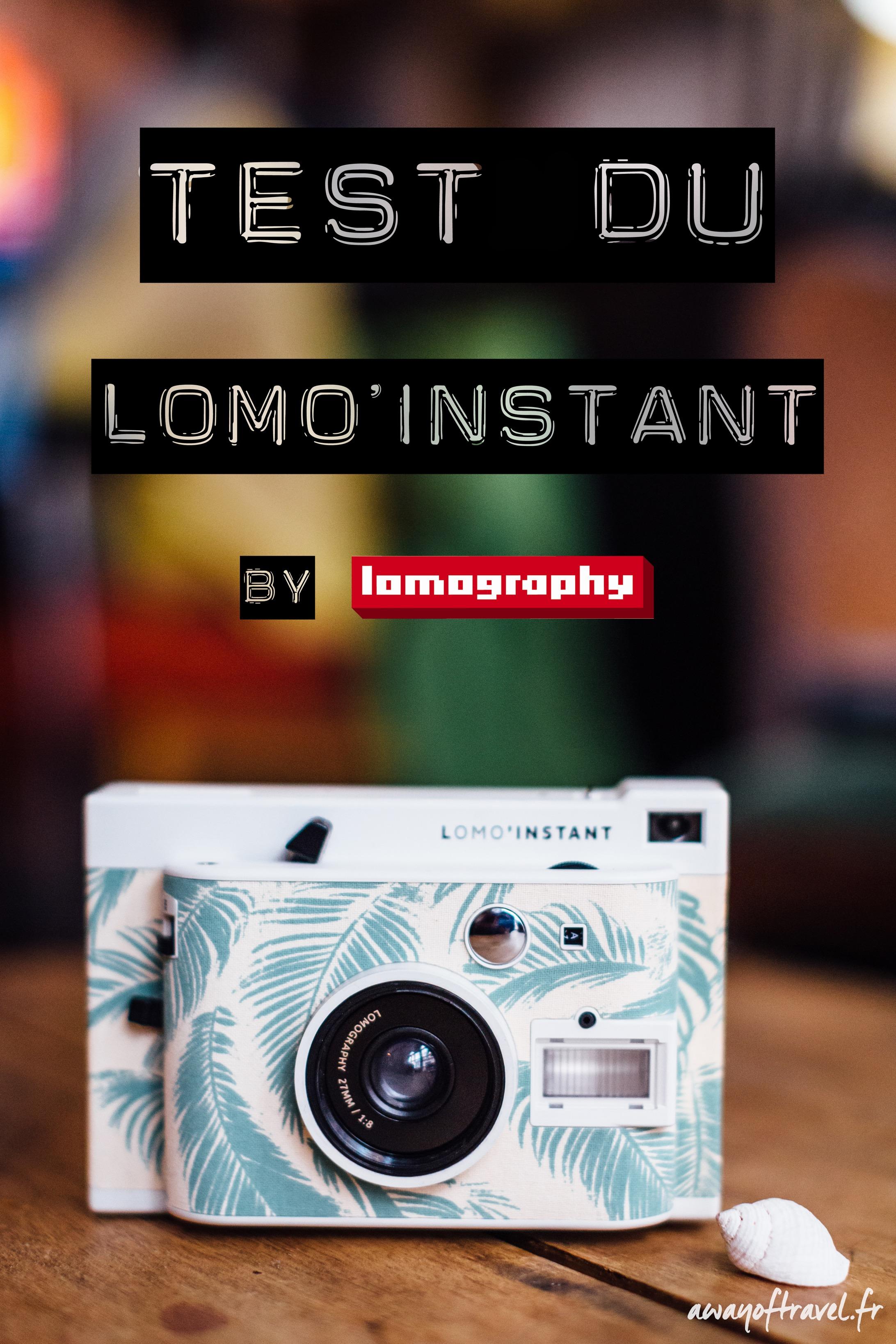 Test Lomo Instant Instax Avis Lomography