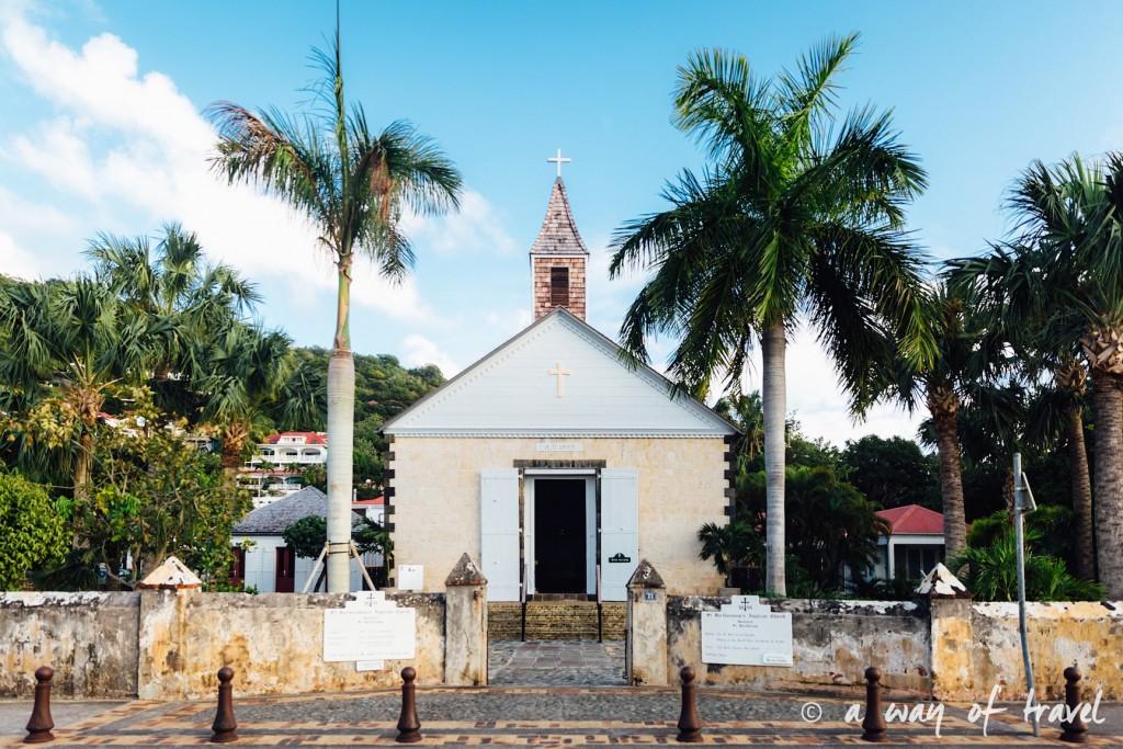 eglise mariage saint barth martin antilles françaises visiter guide plage barthélemy 29