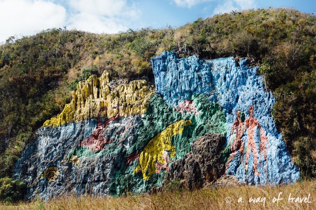 fresque prehistorique Vinales Cuba Guide Voyage 56