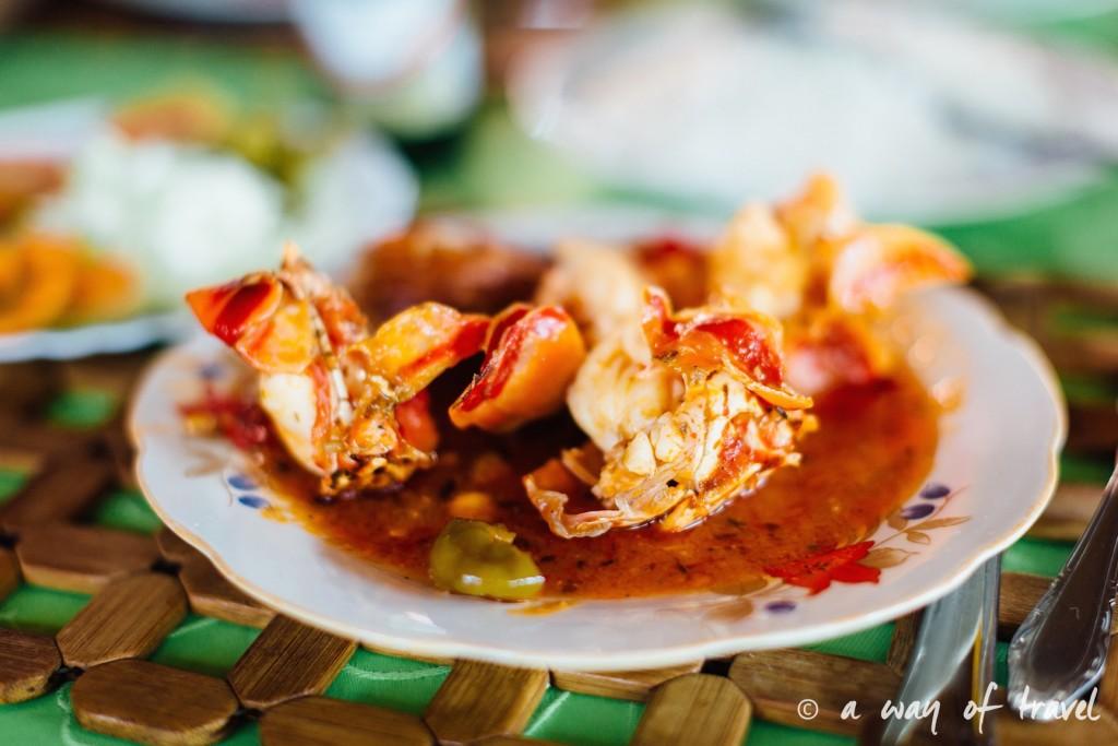 lobster Vinales Cuba Guide Voyage 96