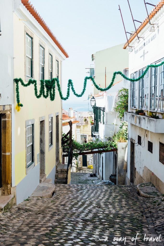 2 Cityguide Lisbonne Visiter Alafama quartier 10