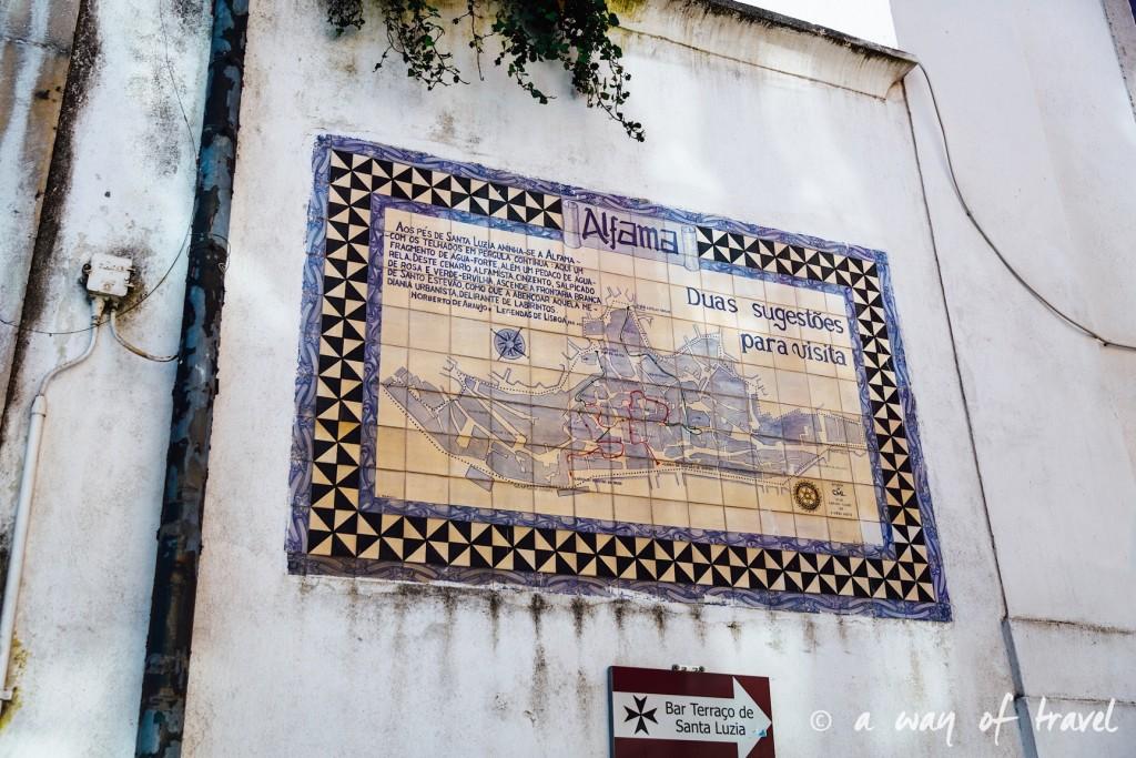 2 Cityguide Lisbonne Visiter Alafama quartier 7