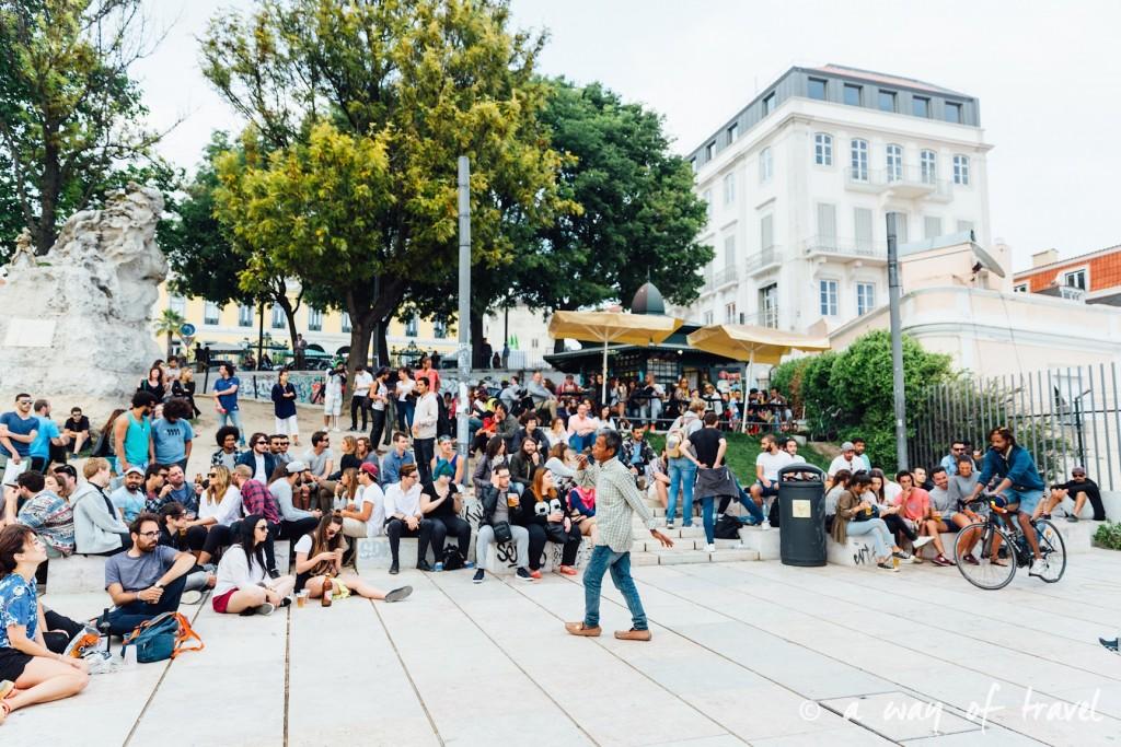 3 Lisbonne Visiter barrio alto mirador Noobai santa catarina 6