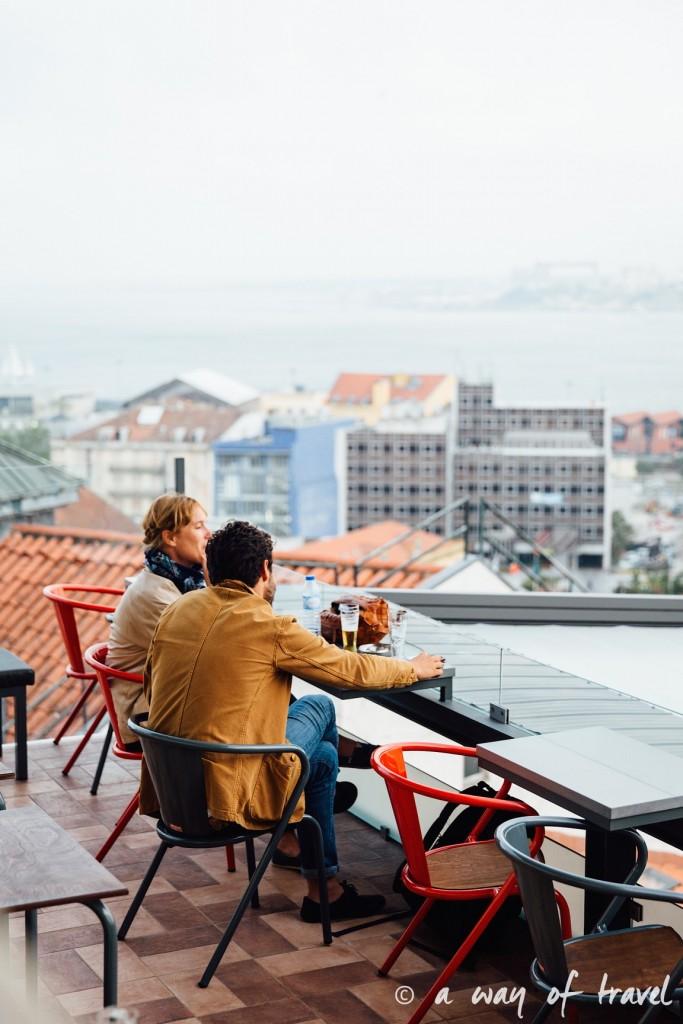 3 Lisbonne Visiter barrio alto mirador Noobai santa catarina 8