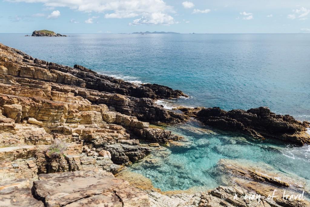 Saint Martin Caraibes Piscines naturelles Sint Maarten guana Bay 1
