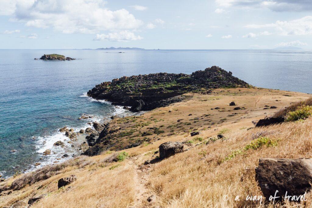 Saint Martin Caraibes Piscines naturelles Sint Maarten guana Bay 7