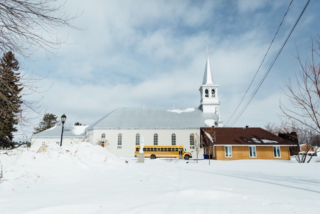 Visiter le quebec hiver 90