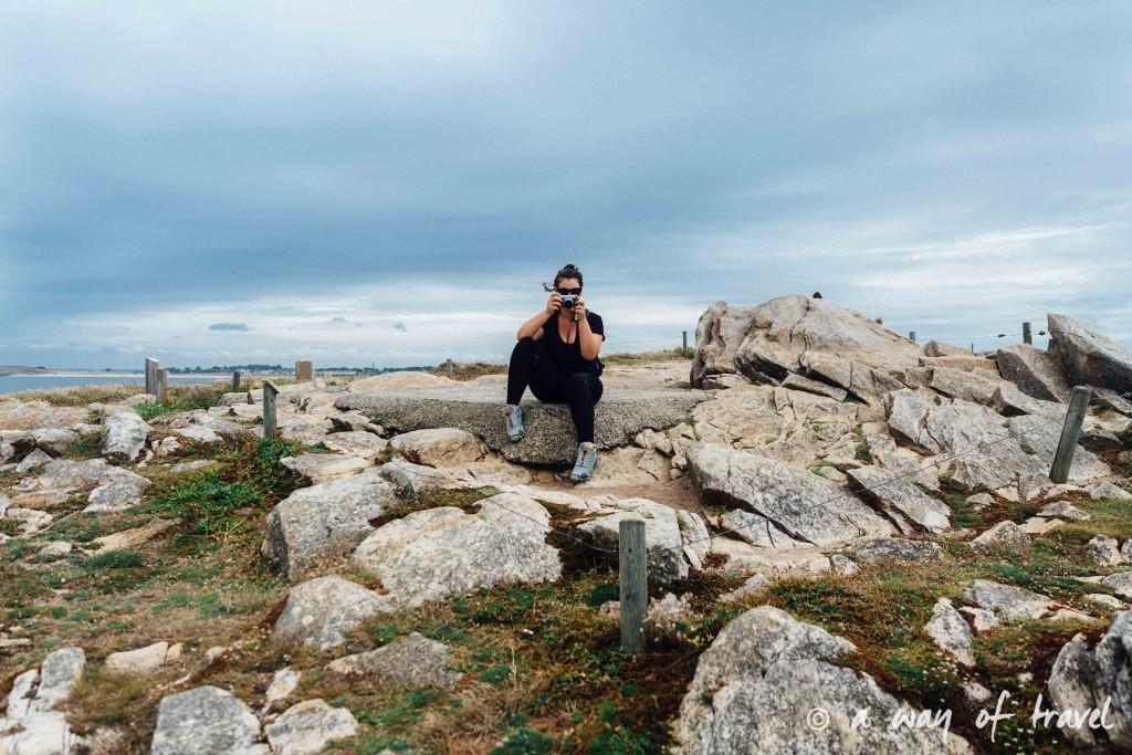 Quiberon randonnée falaise arche guide bretagne-10