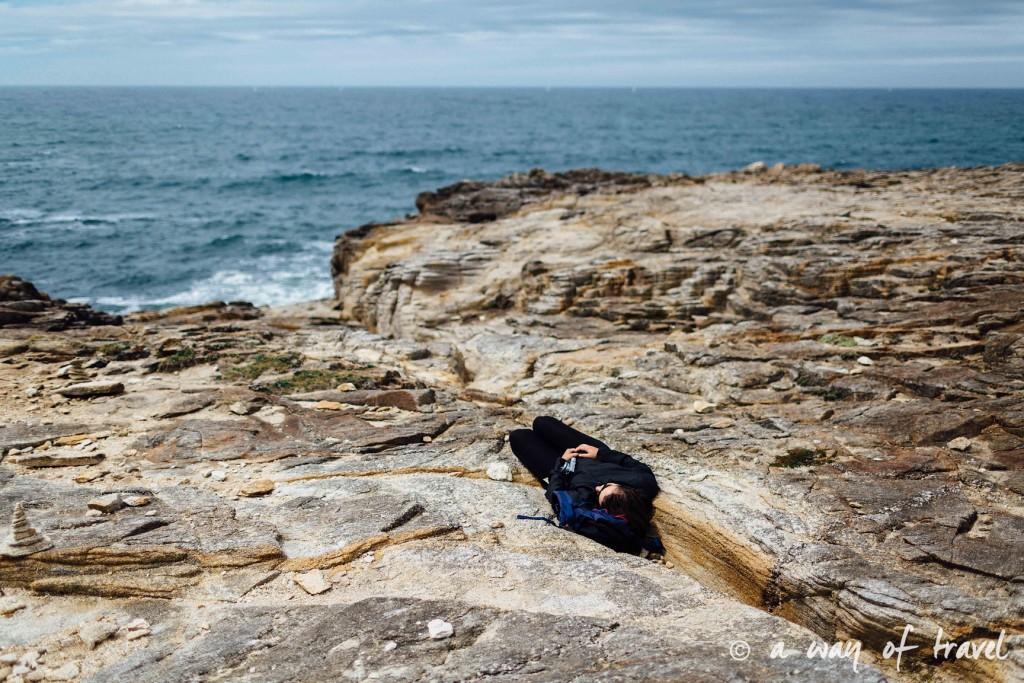 Quiberon randonnée falaise arche guide bretagne-18