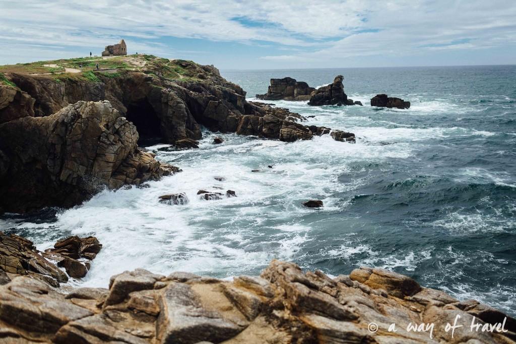 Quiberon randonnée falaise arche guide bretagne-19