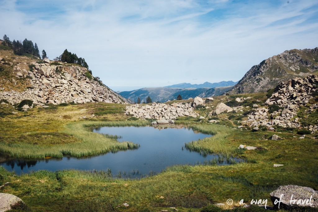 Randonnee pyrenees blog outdoor lac port de fortangete d'Incles 11