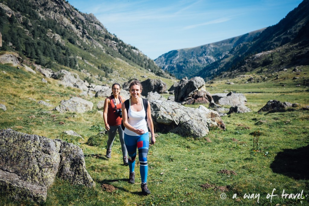 Randonnee pyrenees blog outdoor lac port de fortangete d'Incles 4
